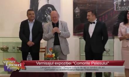 """Expoziție și lansare de carte. Vernisajul expoziției """"Comorile Pelesului"""""""