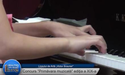 """Concurs """"Primavara muzicală"""" ediţia a XIX-a"""