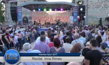 Piatra FEST 2017 Recital Irina Rimes