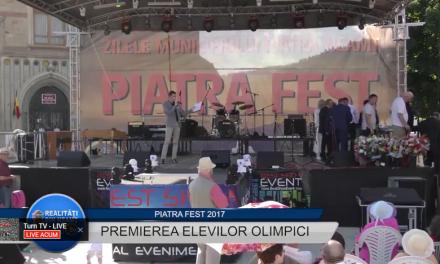 Piatra FEST 2017 – Premierea olimpicilor