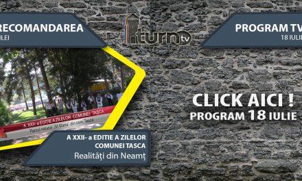 Program TV 18 iulie 2017 si Recomandarea zilei