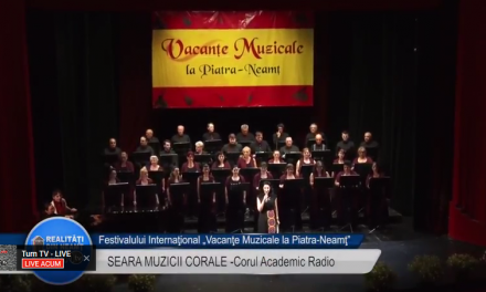 Vacante Muzicale 2017 Corul Academic Radio