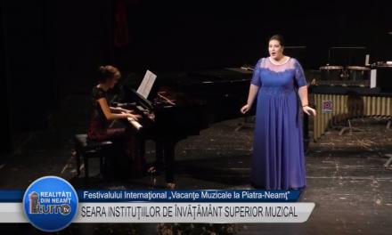 Vacante Muzicale 2017 SEARA INSTITUTIILOR DE INVATAMANT SUPERIOR MUZICAL