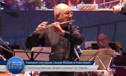 Vacante Muzicale 2017 Filarmonica Nationala Serghei Lunchevici din Chisinau