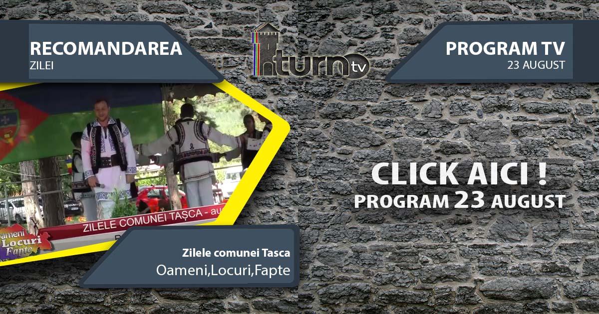Program TV 23 August 2017 si Recomandarea zilei
