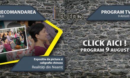 Program TV 9 August 2017 si Recomandarea zilei