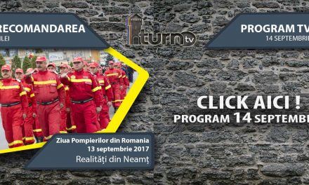 Program TV 14 Septembrie 2017 si Recomandarea zilei