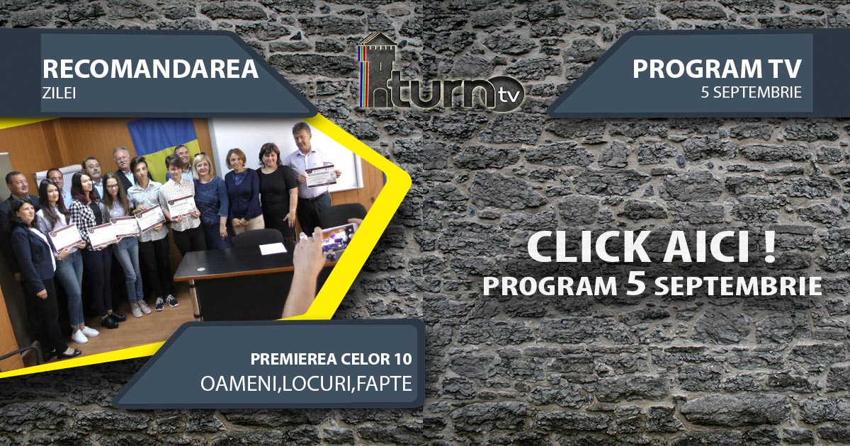 Program TV 5 Septembrie 2017 si Recomandarea zilei