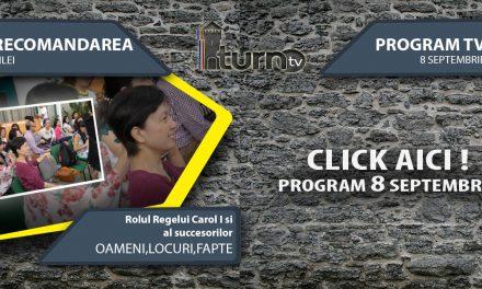 Program TV 8 Septembrie 2017 si Recomandarea zilei