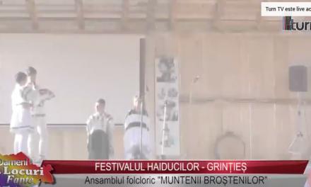 Festivalul Haiducilor Grintieș – Ansamblul folcloric Muntenii Broștenilor