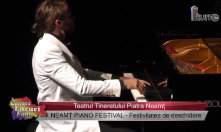 Neamt Piano Festival Festivitatea de deschidere