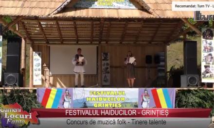 Festivalul haiducilor – Grințieș – Concurs de muzică folk