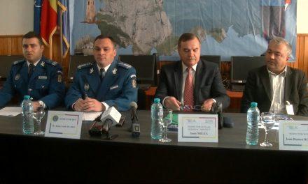 Conferință de presă Inspectoratul de jandarmi Neamț