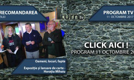 Program TV 11 Octombrie 2017 si Recomandarea zilei