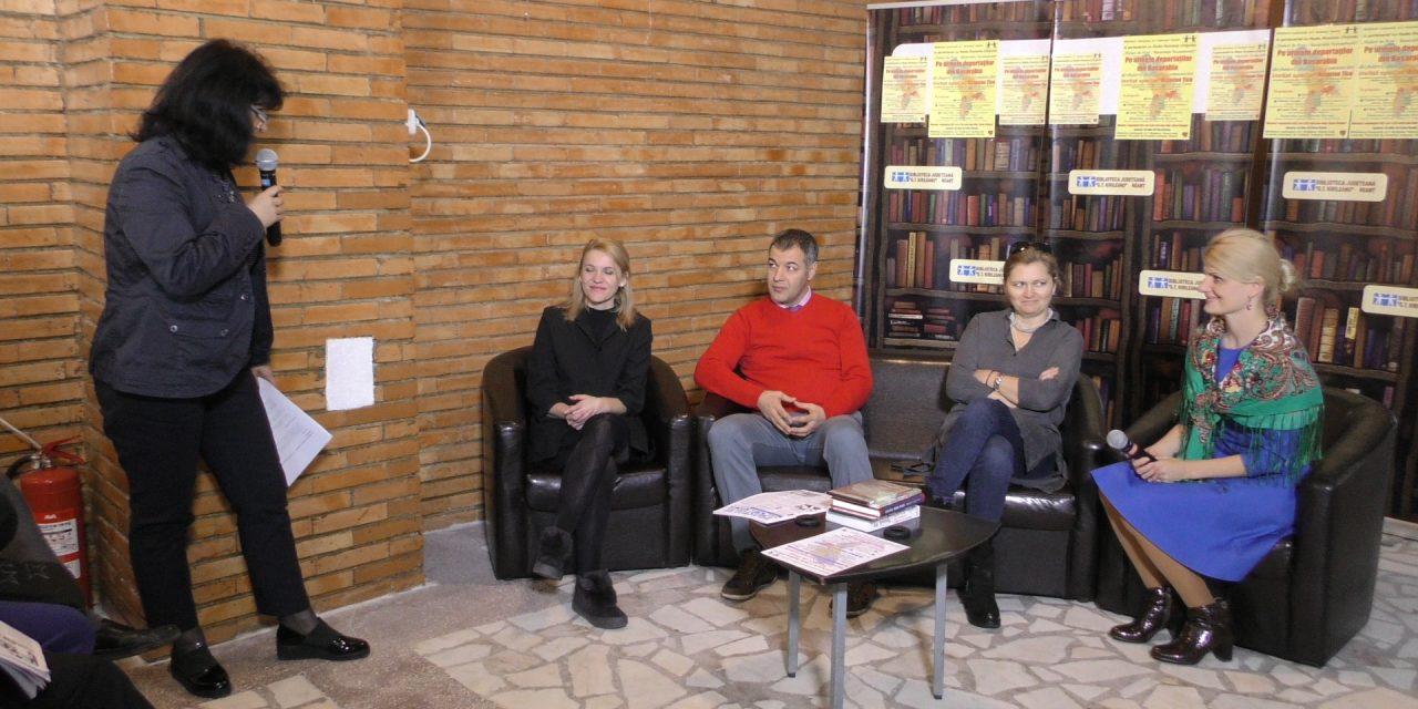 """Pe urmele deportaților din Basarabia, la Biblioteca Județeană """"G.T. Kirileanu"""" Neamț"""