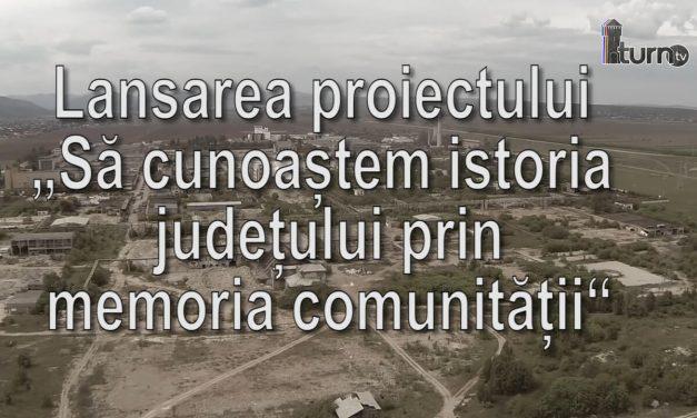 """""""Să cunoaștem istoria județului prin memoria comunității"""""""