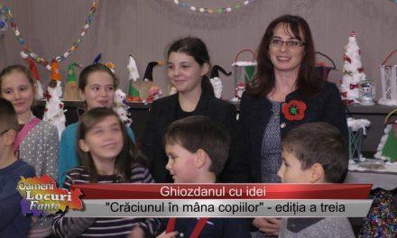 Crăciunul in mâna copiilor