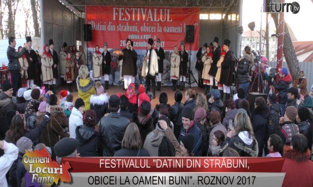 "Festival ""Datini din străbuni, obicei la oameni buni""- Roznov 2017"