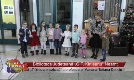 """""""Trăistuța muzicală"""" a profesoarei Mariana-Tatiana Donciu"""