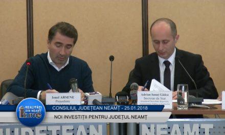 Noi investitii pentru judetul Neamț