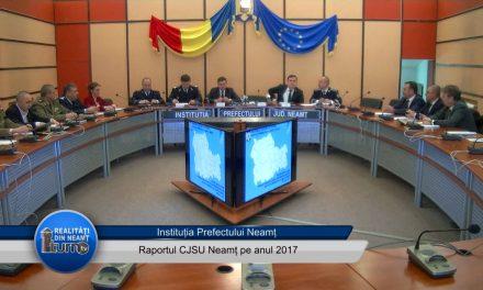Raportul CJSU Neamt pe anul 2017