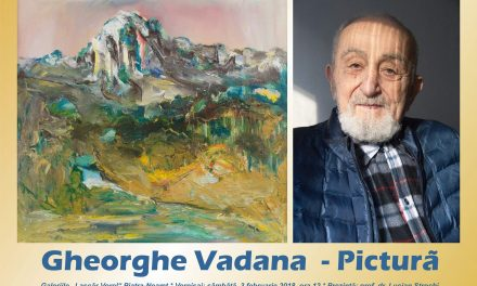 Vernisaj de pictură – Gheorghe Vadana