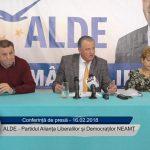 Conferință de presă ALDE – Partidul Alianța Liberalilor si Democraților 16.02.2018