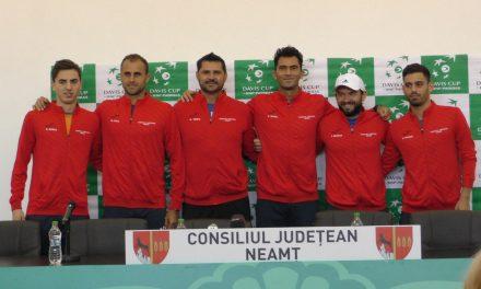 Conferinta de presă – Cupa DAVIS Romania – Luxembourg