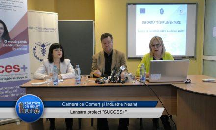 """Lansare proiect CCI """"Succes +"""""""