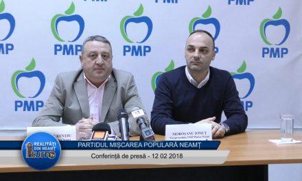Conferință de presă PMP Neamț 12.02.2018