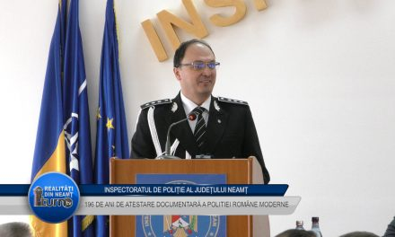 196 de ani de atestare documentara a Poliției Române Moderne