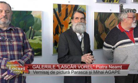 Vernisaj de pictură Parasca și Mihai Agape