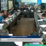 Ședința Consiliului Local Piatra Neamt din 23 03 2018
