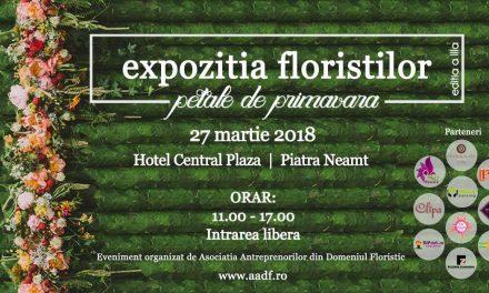 """Expoziția floriștilor """"Petale de primavară"""" editia a III -a"""
