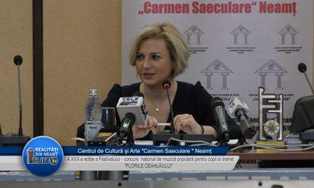 Conferință de presă – Centrul de Cultură și Arte Carmen Saeculare