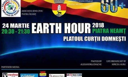Earth Hour 2018- Piatra Neamț