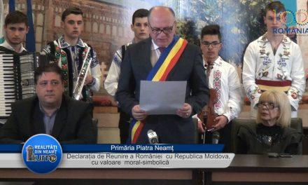 Declaratia de Reunire a României cu Republica Moldova cu valoare moral simbolică