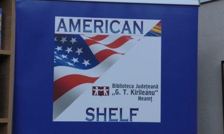 Inaugurarea Raftului American, la Biblioteca Județeană