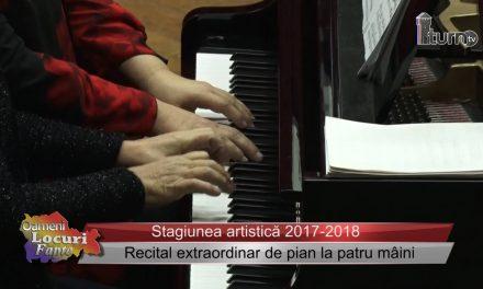 Recital extraordinar de pian la patru mâini