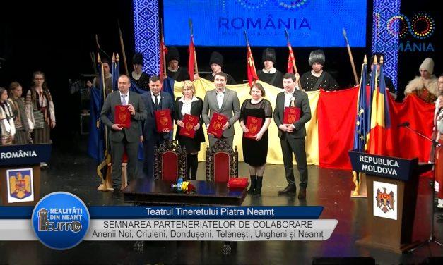 Anenii Noi, Criuleni, Dondușeni, Telenești, Ungheni și Neamț au semnat acorduri de colaborare