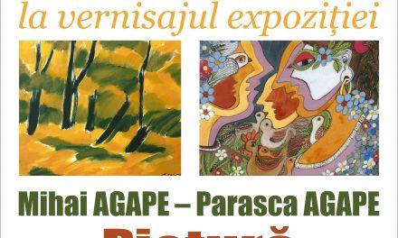 Vernisaj de pictură Parasca și Mihai Agape la Vaduri