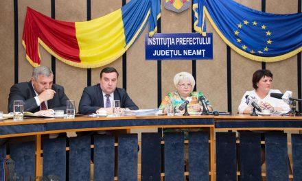 Conferință de presă Prefectura Neamț 06.06.2018