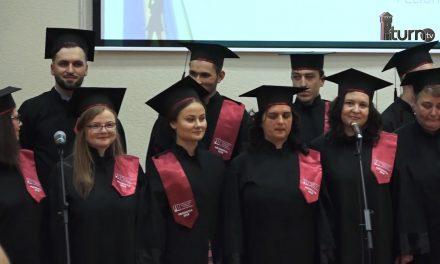"""Ceremonia de absolvire a promoției 2018 a Academiei de muzica """"Gheorghe Dima """"Cluj Napoca extensia Piatra Neamț"""
