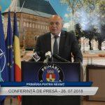Conferință de presă Primaria Piatra Neamt – 26 07 2018