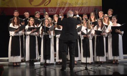 """Festivalul International de muzică """"Vacante Muzicale la Piatra Neamț""""- SEARA MUZICII CORALE"""