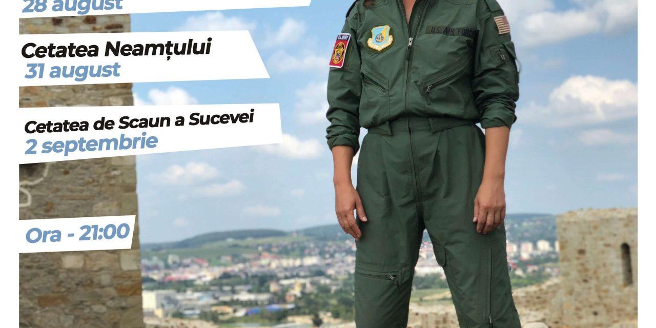 Citadela– instalație performativă dedicată femeilor-pilot din România