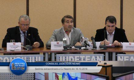 Consiliul Județean Neamț 16.10.2018