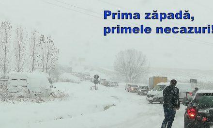 Prima zăpadă, primele necazuri!