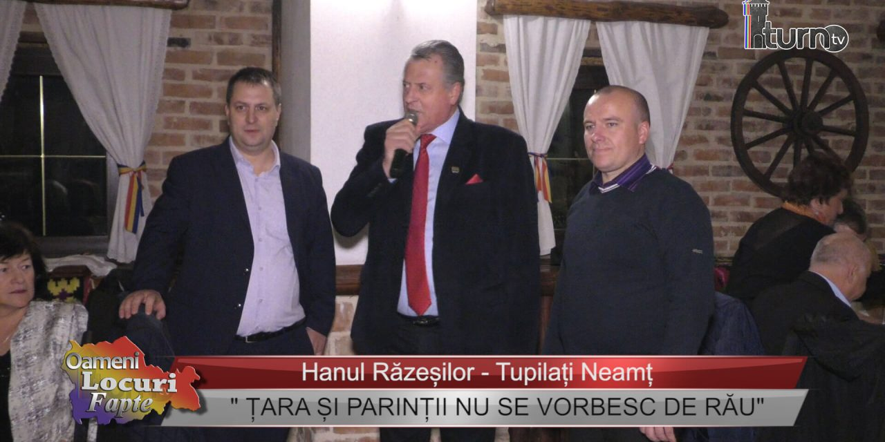 """""""ȚARA ȘI PARINȚII NU SE VORBESC DE RĂU """""""