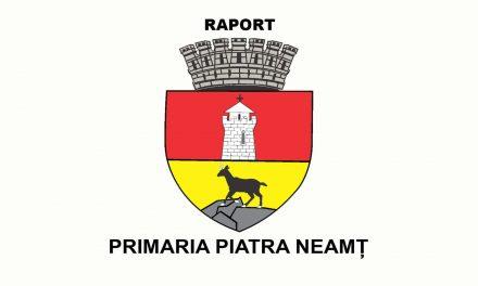 Raportul primarului pe anul 2018